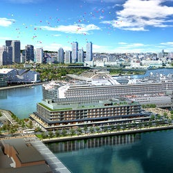 「インターコンチネンタル横浜Pier 8」横浜みなとみらいに新ホテル開業へ