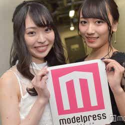 (左から)白井佑奈さん、田中みなみさん (C)モデルプレス