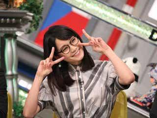 深川麻衣のメガネ×Wピースが最高に可愛い【今週のメガネ美女】