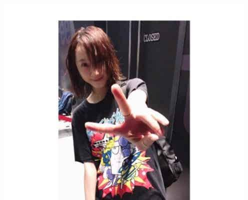 松井玲奈「汗も滴るいい女」ライブ後の濡れ髪ショットに反響