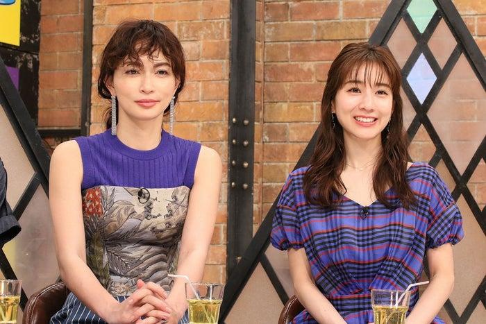 (左から)長谷川京子、田中みな実(C)カンテレ