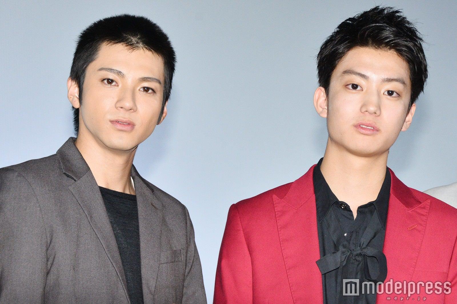 左から)山田裕貴、健太郎 (C)モデルプレス