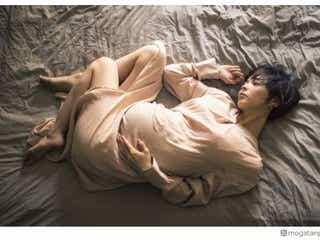第1子妊娠中の最上もが、マタニティフォト公開「めちゃくちゃ母に似てます」