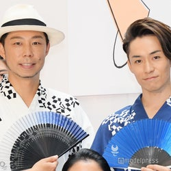 EXILE USA&TETSUYA、浴衣姿で登場「ビールを片手に花火を見たい」 東京五輪に向け夢も明かす