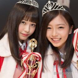 (左から)準グランプリ上水口姫香、グランプリおさかべゆい(C)モデルプレス
