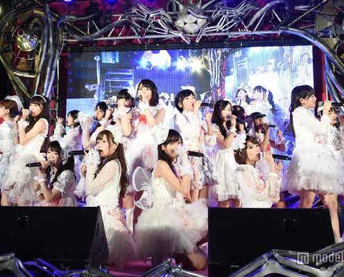 """乃木坂46、""""血まみれ""""でハロウィンライブ 「何度目の青空か?」含む全6曲披露"""