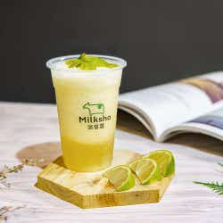 台湾レモン緑茶フラッペ ¥600/画像提供:MILKSHOP JAPAN株式会社