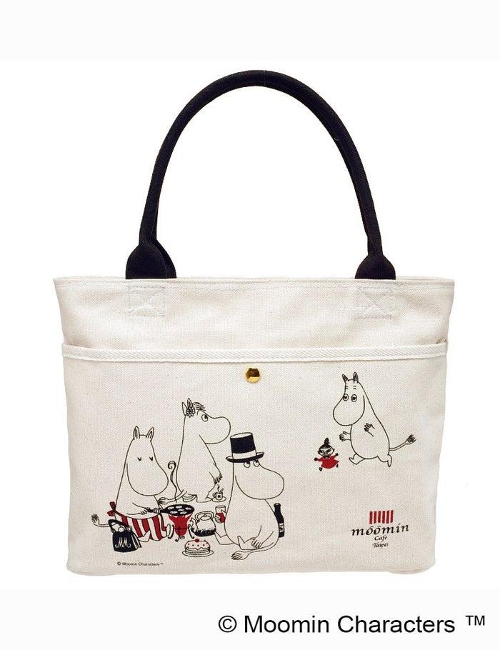 ファスナー付きトートバッグ1200$(台湾ドル)(台湾ドル)(C)Moomin Characters