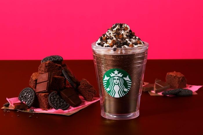 チョコレート オン ザ チョコレート フラペチーノ/画像提供:スターバックス コーヒー ジャパン