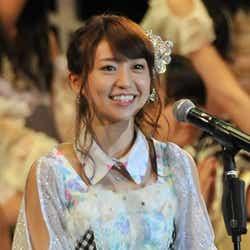 モデルプレス - 2位陥落の大島優子、舞台裏で本音「ごめんなさい」<第5回AKB48選抜総選挙>