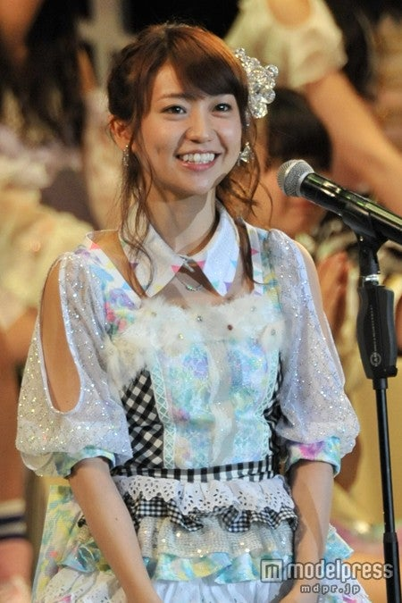 2位を獲得した大島優子