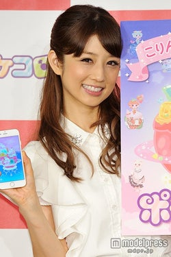 夫との不仲説にコメントをした小倉優子【モデルプレス】
