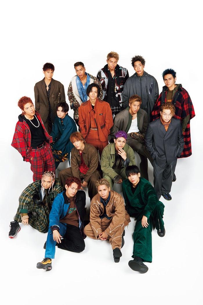THE RAMPAGE from EXILE TRIBE/「smart」12月号(宝島社、2019年10月25日発売)より(提供画像)