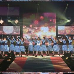 日向坂46「ガルアワ」初ライブ ハッピーオーラ全開ステージに会場熱狂<GirlsAward 2019 SPRING/SUMMER>