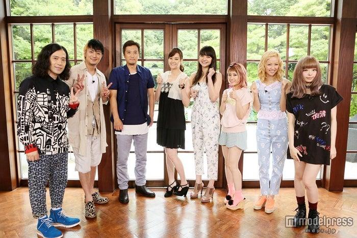 左から:又吉直樹(ピース)、上地雄輔、大鶴義丹、観月ありさ、加賀美セイラ、IMALU、Ami(E‐girls)、きゃりーぱみゅぱみゅ/画像提供:関西テレビ