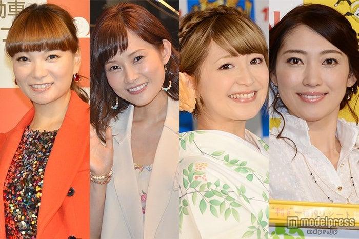 (左から)保田圭、安倍なつみ、矢口真里、飯田圭織らモー娘。OGと中居正広が久々共演に反響【モデルプレス】