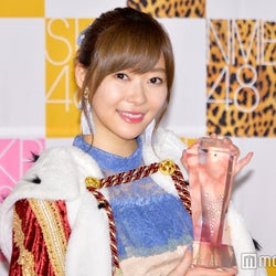 HKT48指原莉乃、電撃結婚発表のNMB48須藤凜々花にコメント<第9回AKB48選抜総選挙>