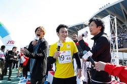 香取慎吾、草なぎ剛、稲垣吾郎/提供:日本財団パラリンピックサポートセンター