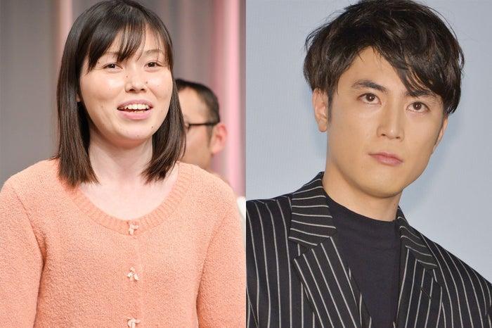 (左から)尼神インター・誠子、間宮祥太朗 (C)モデルプレス
