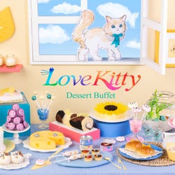 「ラブ・キティ」猫スイーツいっぱいのデザートビュッフェ、ヒルトン東京ベイで開催
