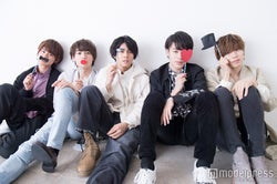 DearDream(左から)正木郁、溝口琢矢、石原壮馬、富田健太郎、太田将熙(C)モデルプレス