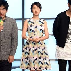 前田敦子、幾何学模様のカラフルワンピで春気分 絶妙カラーリングがポイント<ファッションチェック>