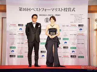 吉瀬美智子、大胆ドレスで美脚披露「ギリギリのセクシーさ」で魅了