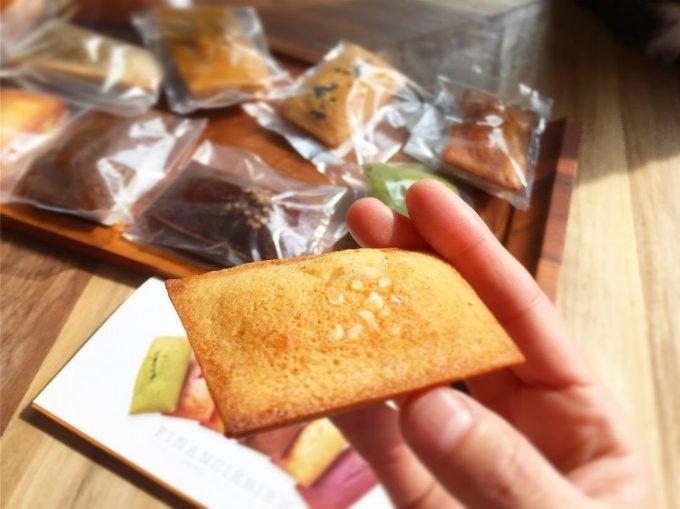 愛知のフィナンシェ専門店「フィナンシェリーアッシュ」の美味しいフィナンシェ
