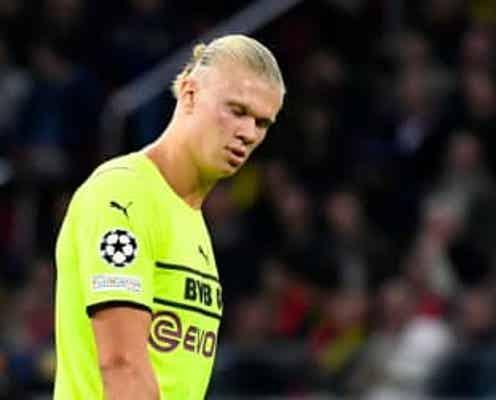 サッカー=ドルトムントのハーランド、股関節負傷で数週間の離脱
