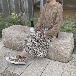 秋冬に買ったお気に入りは長く着たいから。「レオパードスカート」、春はどう着る?