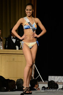 「2015 ミス・ユニバース日本大会」に参加した宮本エリアナさん