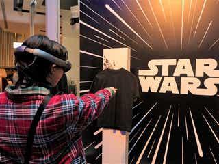 「H&M」、「スター・ウォーズ」AR体験型商品が登場
