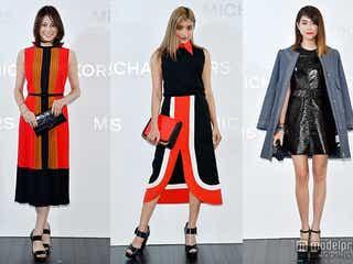 ローラ、森星、米倉涼子がラグジュアリースタイルで登場 海外セレブと美の競演