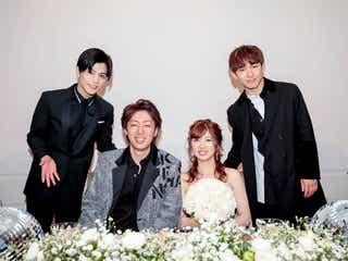 三代目JSB・NAOTO&岩田剛典、ファンの結婚式にサプライズ登場「すごく幸せな空間だった」