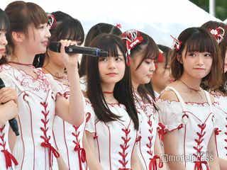 NGT48、活動再開で再出発 荻野由佳がスピーチ・涙する研究生も「TIF2019」<セットリスト>