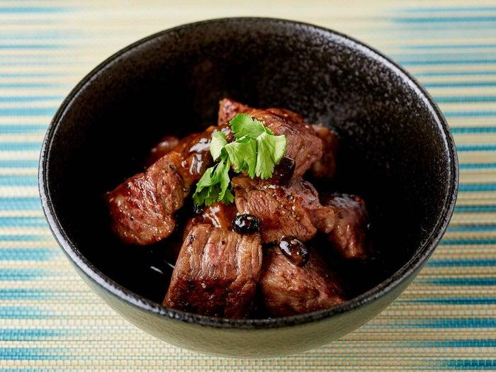 豆鼓牛排(トーチステーキ) (提供画像)