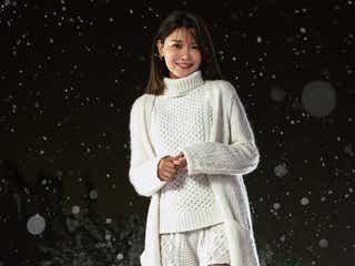 少女時代スヨン、大雪原を歩く姿が美しい ソロで日本初CM出演