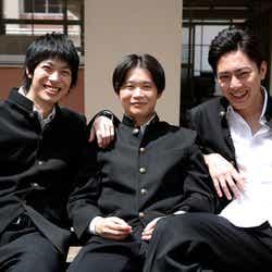 (左から)渡辺大知、矢本悠馬、間宮祥太朗(C)テレビ朝日