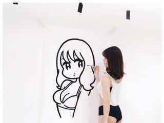 小嶋陽菜、SEXYポーズでマシュマロヒップ大胆披露