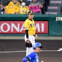 阪神・岩貞、DeNA・梶谷に先頭打者弾浴びる 初球をいきなり失点