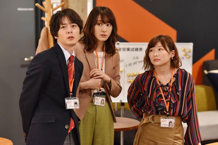 犬飼貴丈・新垣結衣・伊藤沙莉/「獣になれない私たち」第8話より(C)日本テレビ
