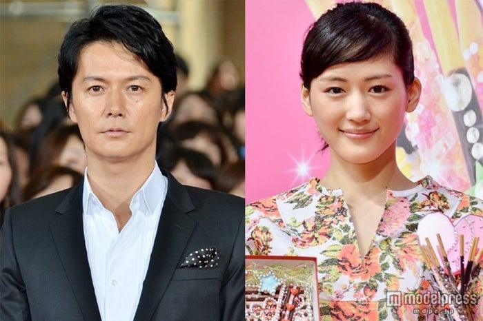 「テレビタレントイメージ2013年8月度調査」で1位に輝いた福山雅治(左)と綾瀬はるか(右)