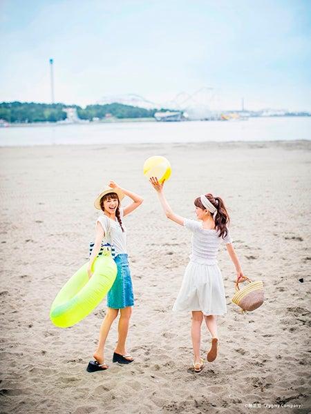 松井愛莉&佐藤晴美/ 「Ray」9月号(画像提供:主婦の友社)