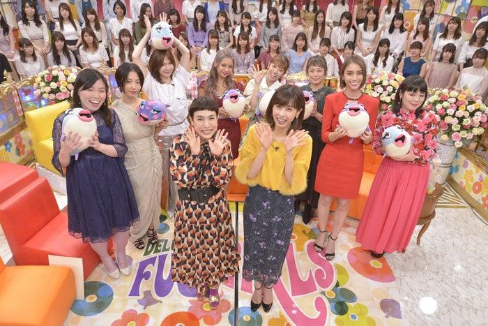 「妄想ふくらむフグ女たち」出演者(写真提供:読売テレビ)