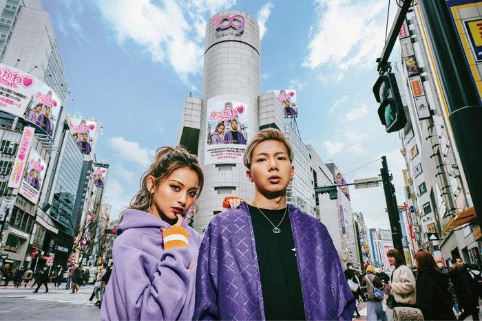 ゆきぽよ&SLOTH(提供写真)