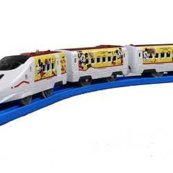 『JR九州Waku Waku Trip新幹線』デザインのプラレール(C)Disney