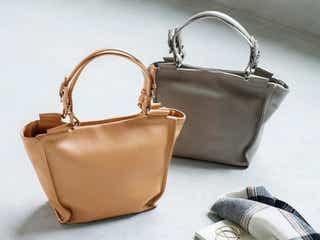 上品で使いやすい!大人カラーが人気のシンプルな革バッグ