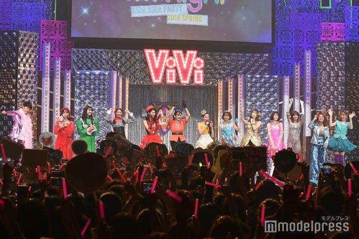 「ViVi Night in TOKYO 2018 KIRA KIRA PARTY SPRING」イベントの様子 (C)モデルプレス