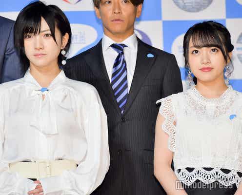 AKB48&乃木坂46が協力 向井地美音「人数が多いので…」