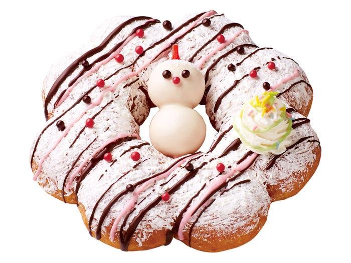 ミスド、最大級のビッグドーナツ登場 クリスマスフレーバーも続々/画像提供:ミスタードーナツ